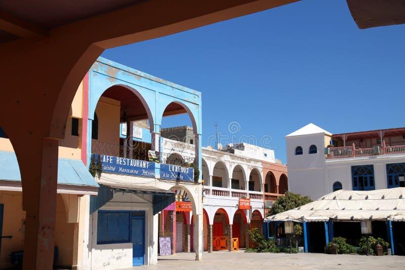 kwadratowy essaouira miasteczko zdjęcia royalty free