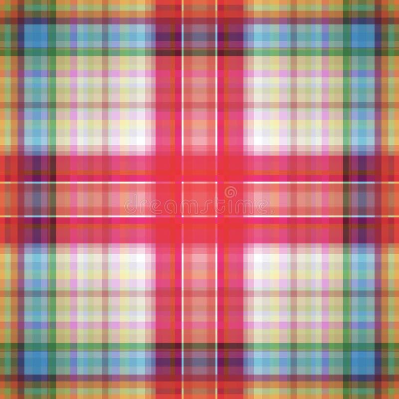 Kwadratowy hipnotyczny wz?r, z?udzenie geometryczny grafika royalty ilustracja