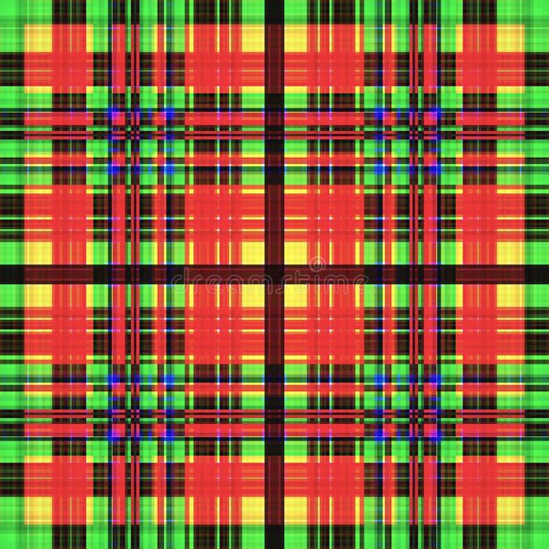 Kwadratowy hipnotyczny wz?r, z?udzenie geometryczny powtórka kalejdoskop ilustracji