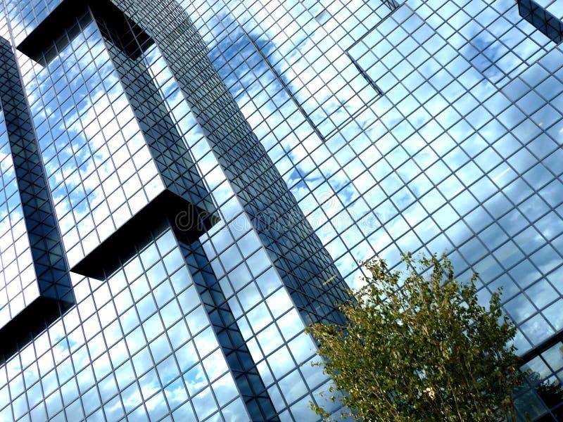 Kwadratowy Nadokienny Budynek 5 obrazy stock