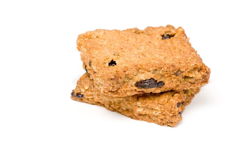 kwadraty granola zdjęcie stock
