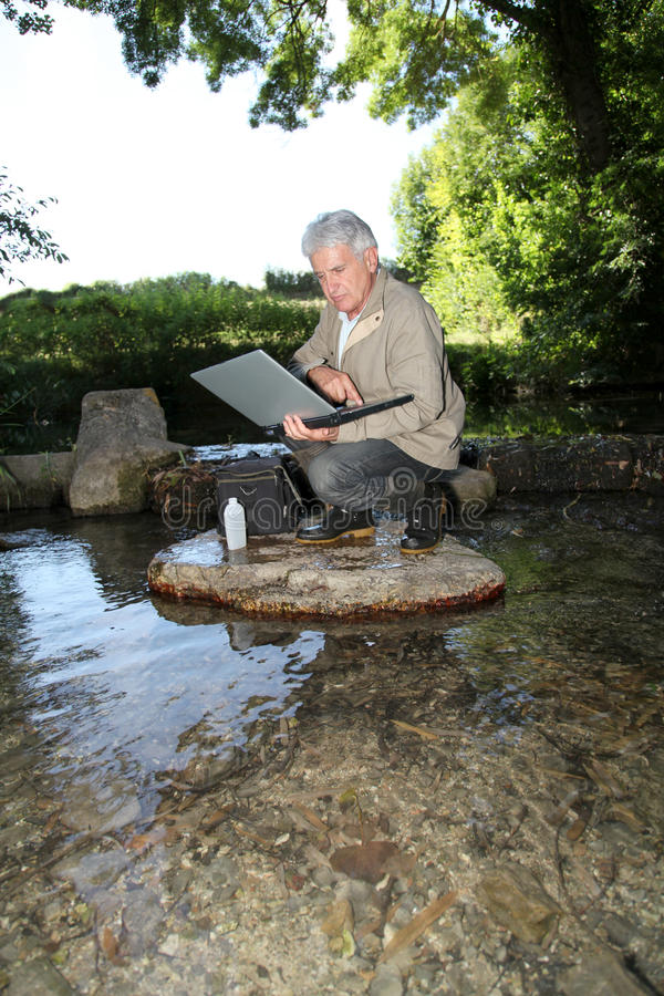 Kwaliteit van water royalty-vrije stock fotografie