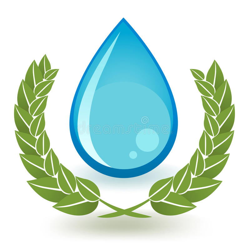 Kwaliteitswater stock fotografie