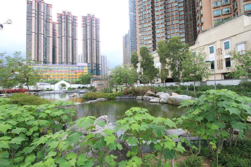 Kwan ο άποψη οδών Tseung στο Χονγκ Κονγκ στοκ εικόνα