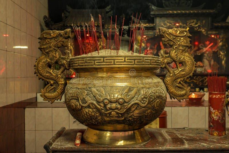 Kwan Im Temple, Jakarta Indonesia royalty free stock photo