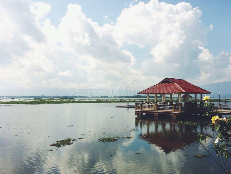 Kwan phayao湖 库存图片