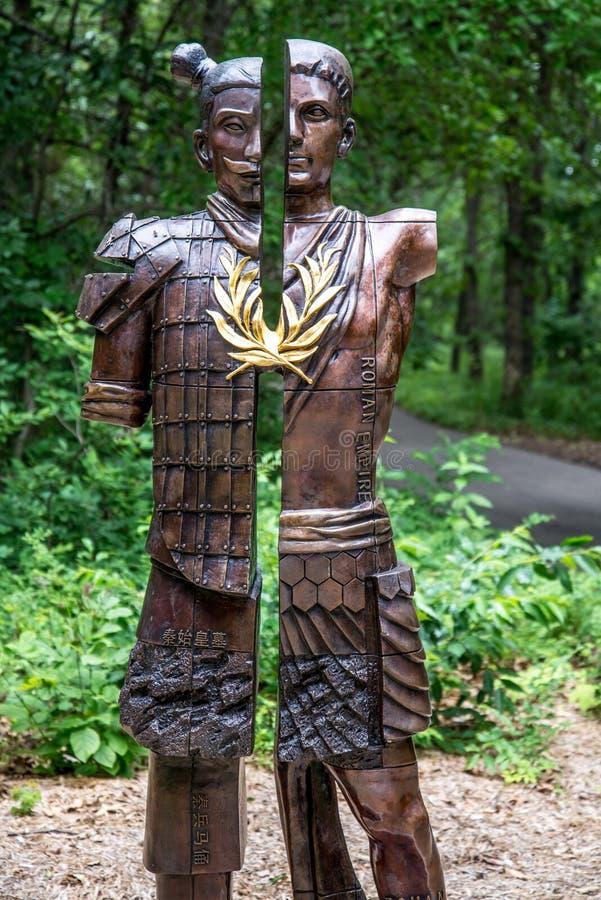 Kwan Wu Statue stock fotografie