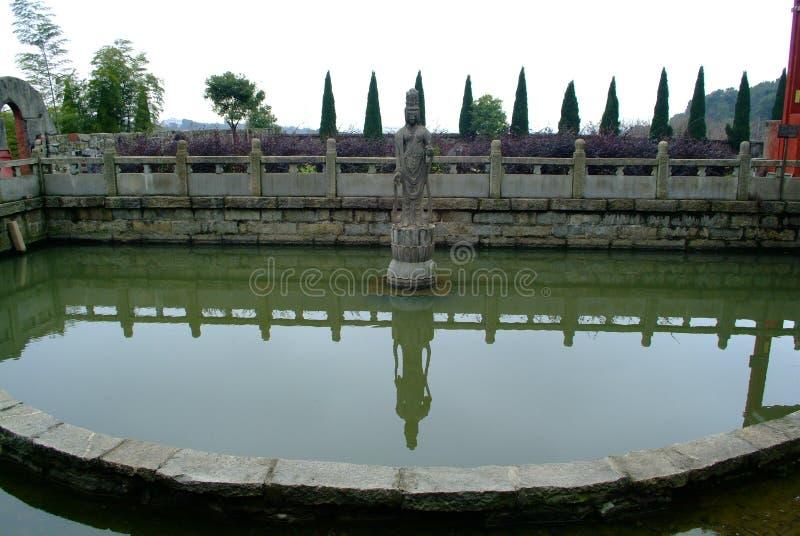 Download Kwanyin stock afbeelding. Afbeelding bestaande uit klooster - 29515003