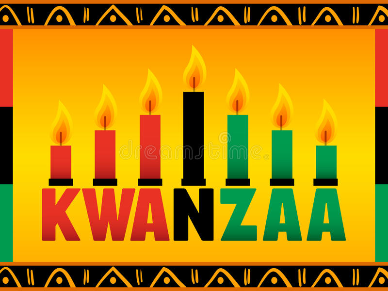 Kwanzaa illustration de vecteur
