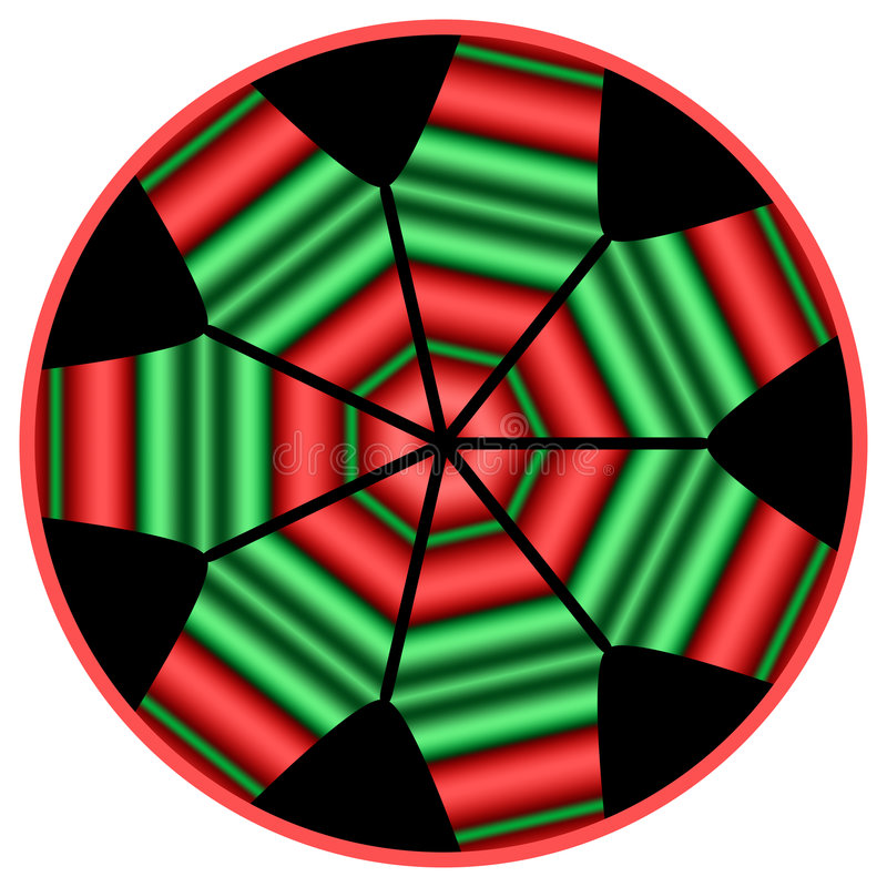 Kwanzaa Mandala vector illustratie