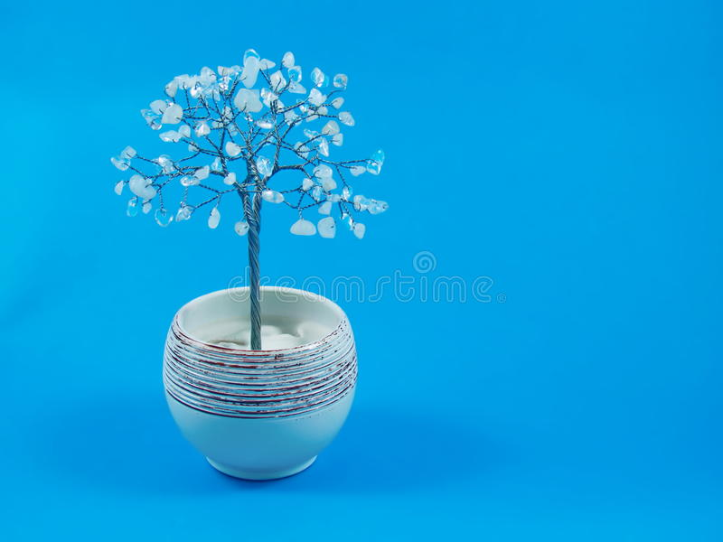 Kwarcowy drzewo zdjęcia royalty free