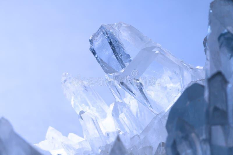 Kwartskristal royalty-vrije stock afbeelding