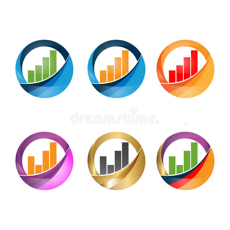 Kwekend grafische bars vector illustratie