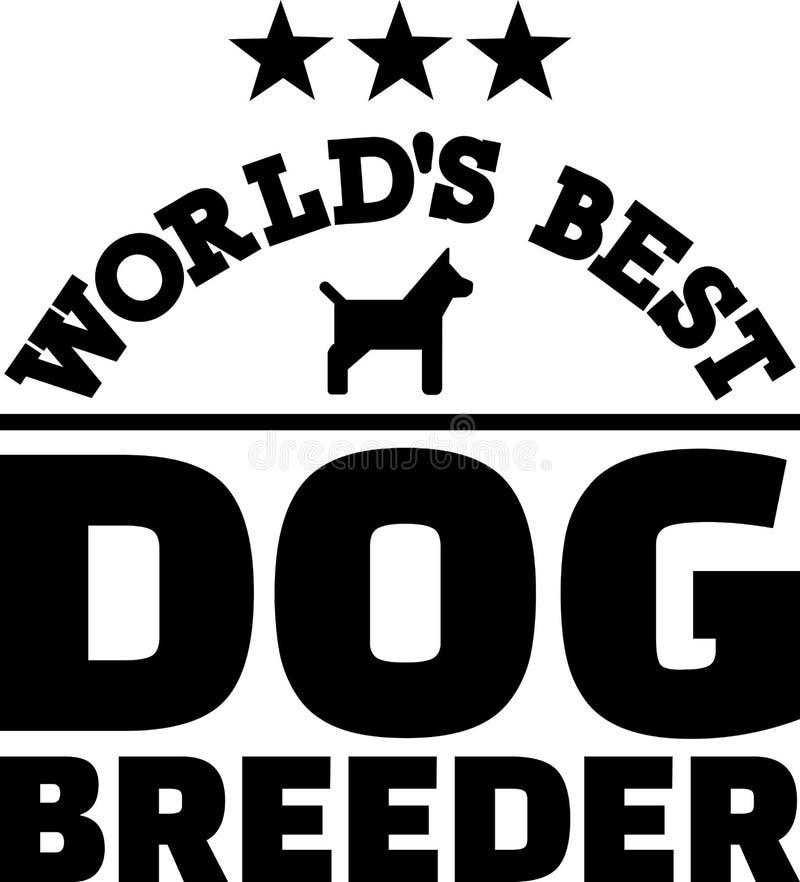 Download Kweker Van De Werelden De Beste Hond Vector Illustratie - Illustratie bestaande uit beroep, puppy: 114227918