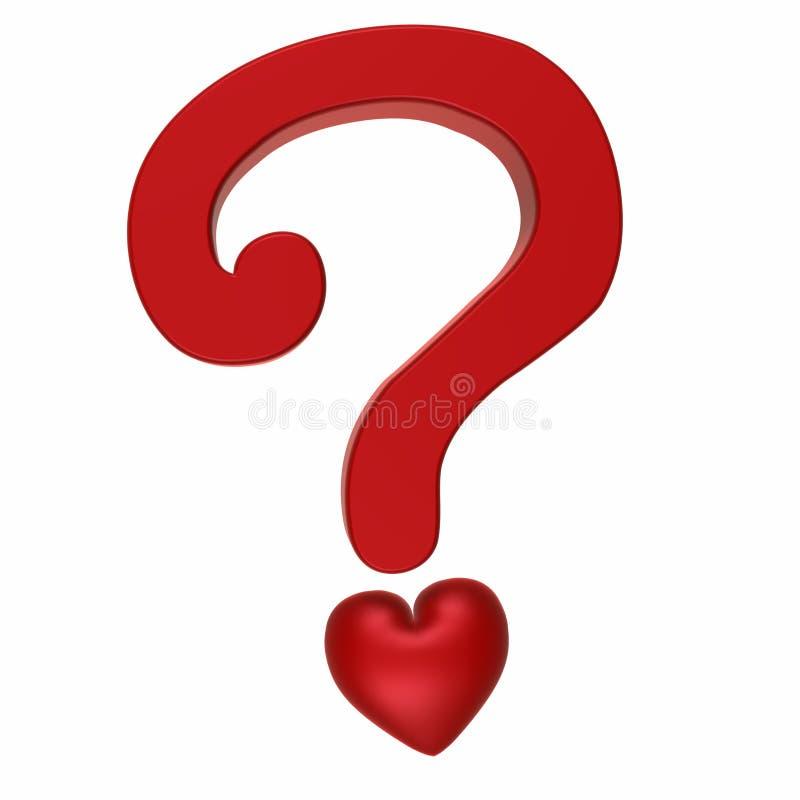 Kwestie van Liefde 1 royalty-vrije illustratie