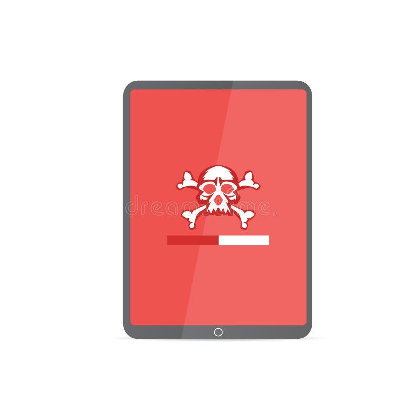 Kwetsbaarheidsonderzoek SEO-optimalisering, Webanalytics, de elementen van het programmeringsproces De veiligheidsconcept van IT royalty-vrije illustratie