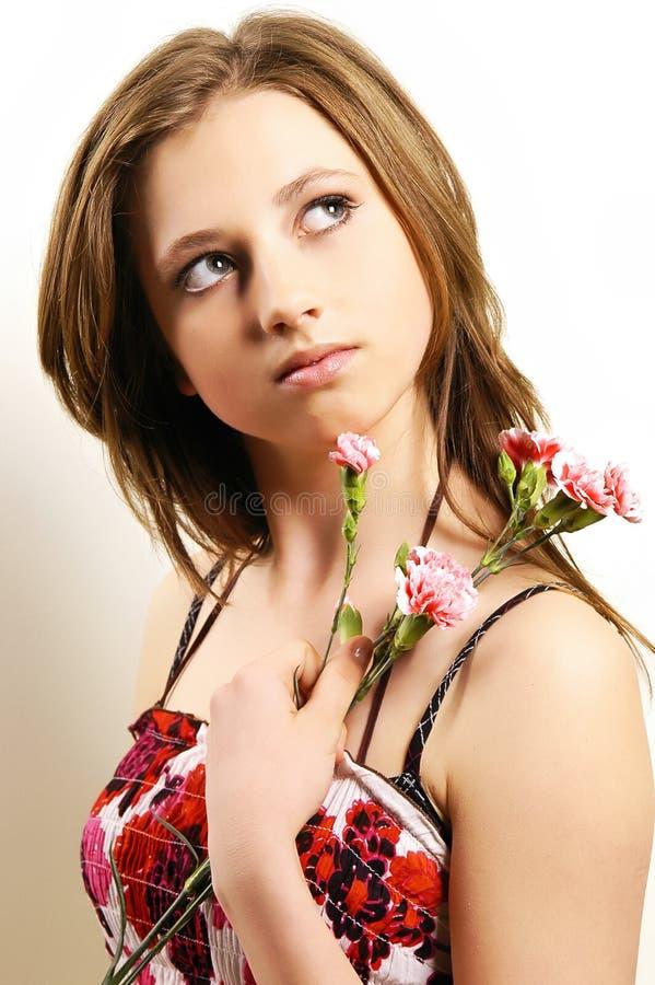 kwiaciarka obraz stock