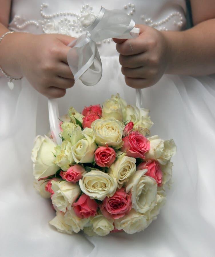 kwiaciarka mała obraz royalty free