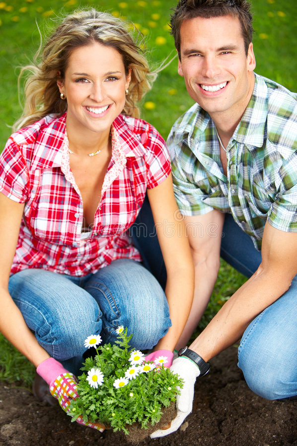 kwiaciarni ludzie zdjęcia stock