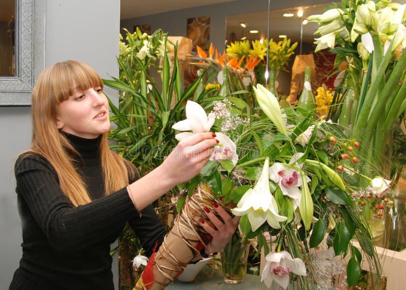 kwiaciarnia zdjęcie stock