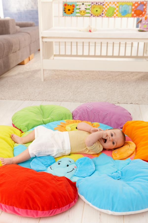 kwiaciasty dziecka playmat fotografia royalty free