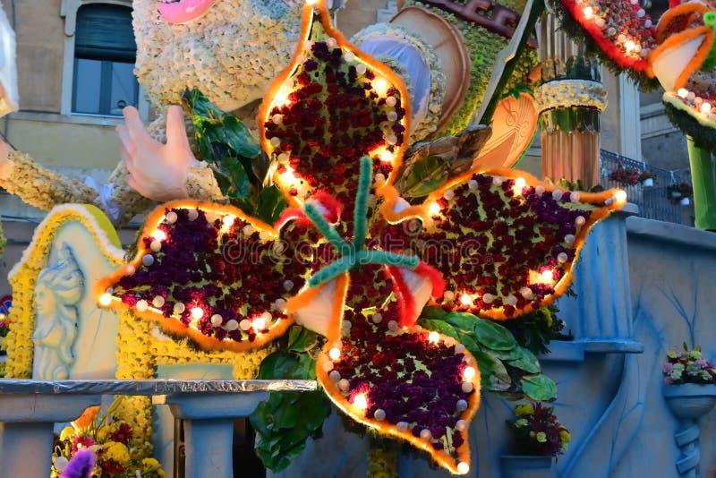 Kwiaciasty pławik przedstawia różnorodnych charaktery fantazja zdjęcie royalty free