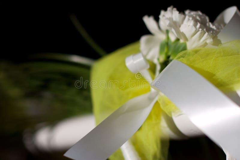 Kwiatów szczegóły dla ślubu zdjęcia royalty free