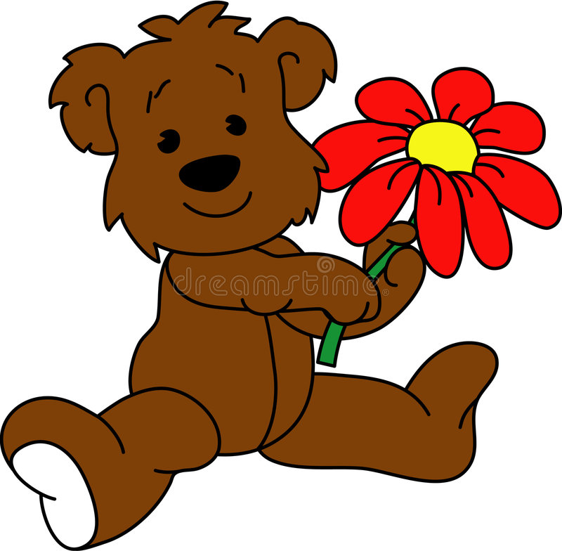 kwiat bear zdjęcia stock