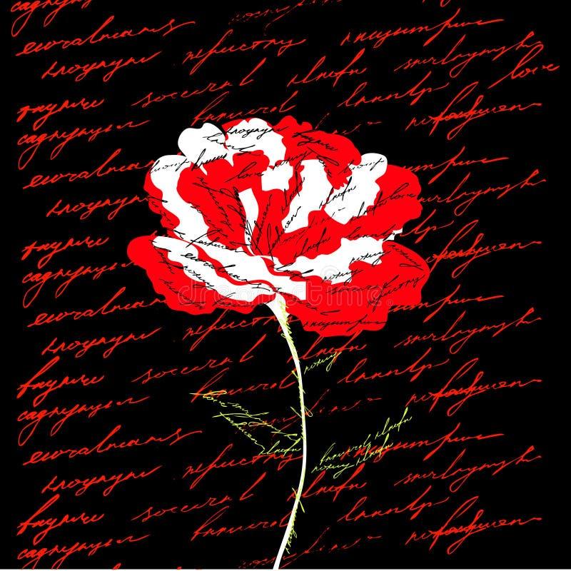 kwiat czerwień ilustracji