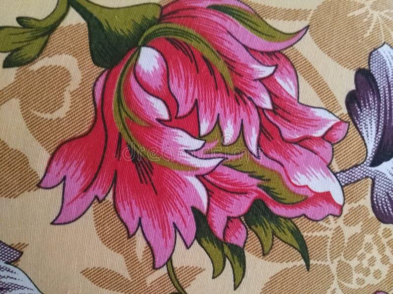 Kwiat czerwień w colour projekcie i sztuce zdjęcia royalty free