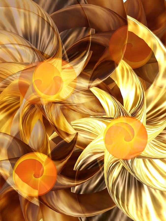 kwiat fale ilustracji