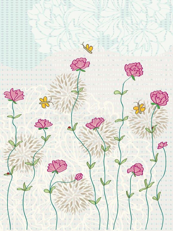 Kwiat gałąź royalty ilustracja