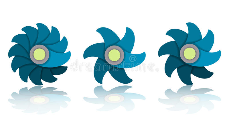 Kwiat ikony ilustracji