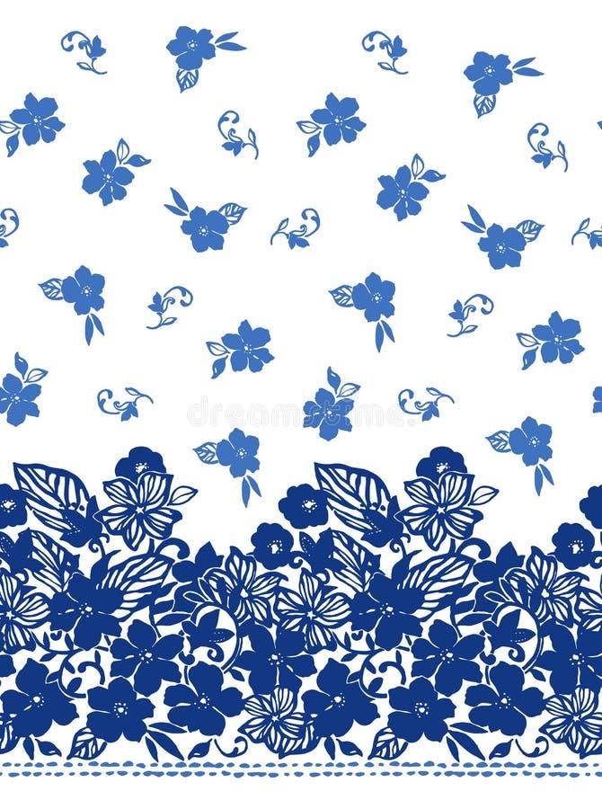 Kwiat ilustraci wzór ilustracja wektor