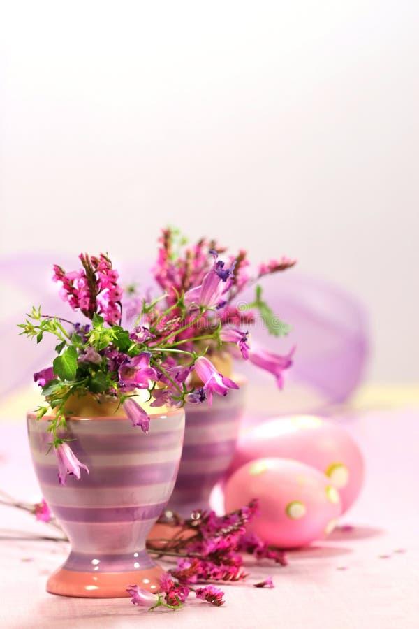 kwiat jajeczny filiżanek dekoracje obrazy royalty free