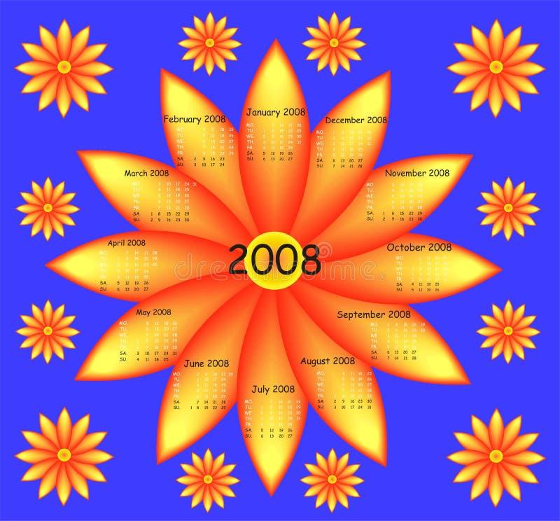 kwiat kalendarzowego ilustracji