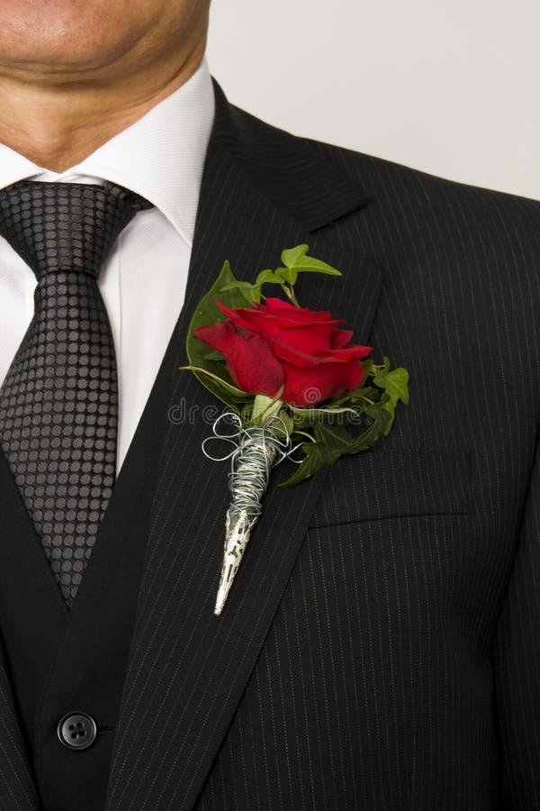 kwiat klapę fotografia stock