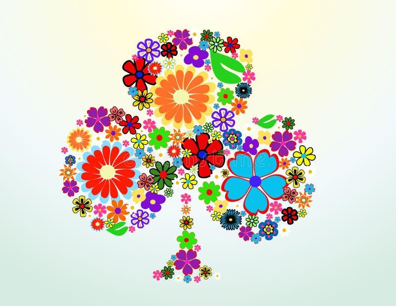 kwiat kolorowa wiosna ilustracja wektor