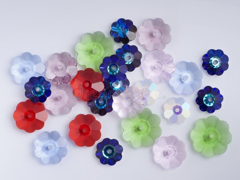 kwiat koralika szkła fotografia stock