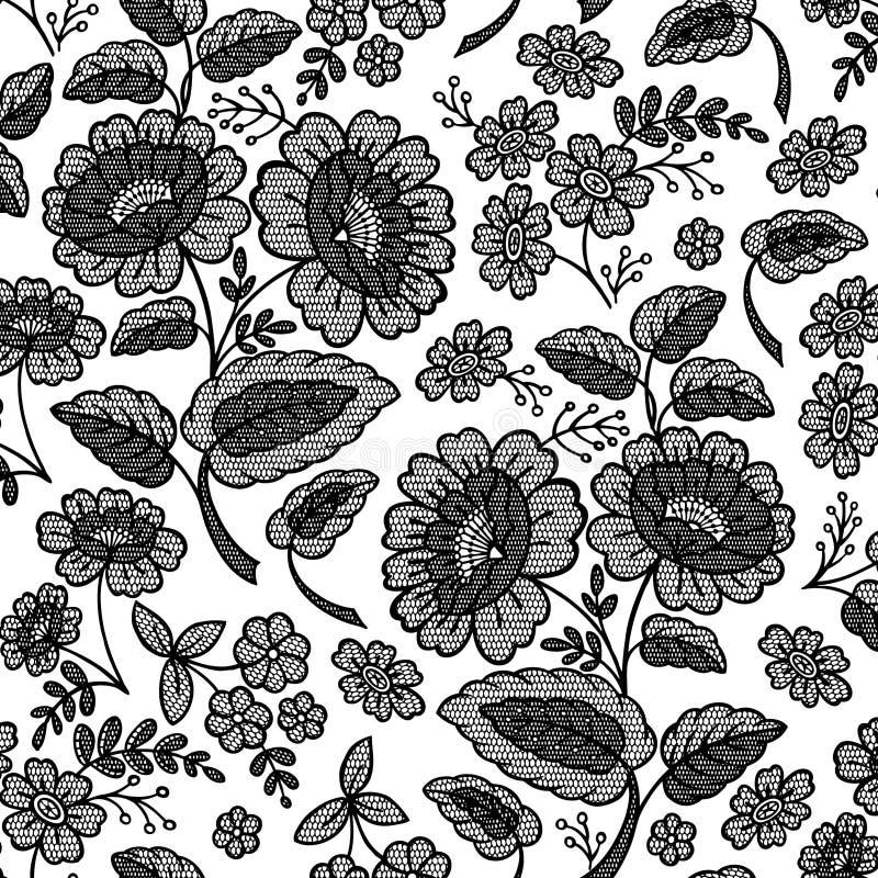 kwiat kwiecista koronka ilustracja wektor