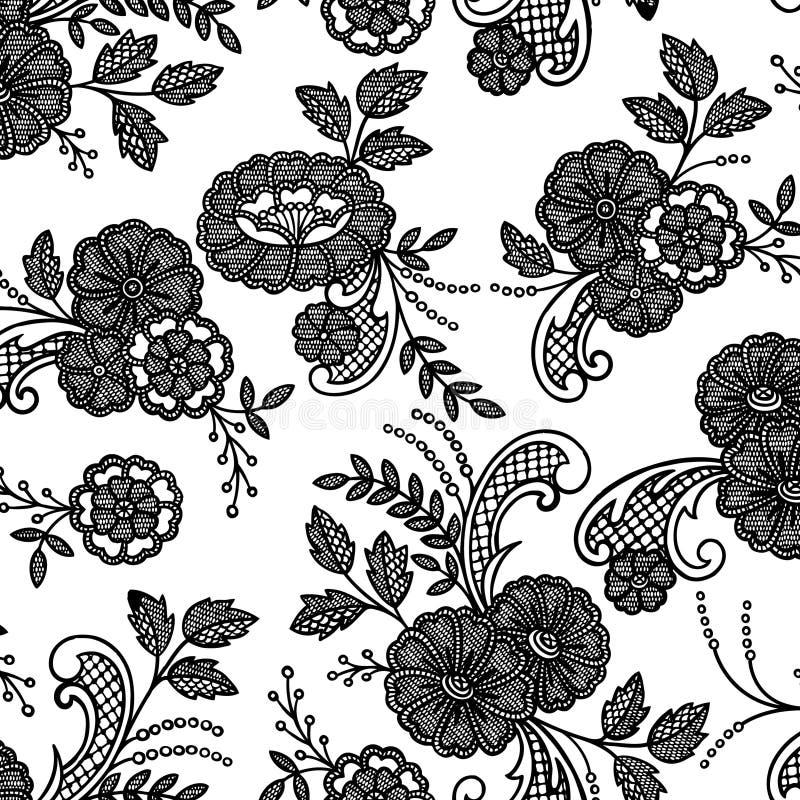 kwiat kwiecista koronka ilustracji