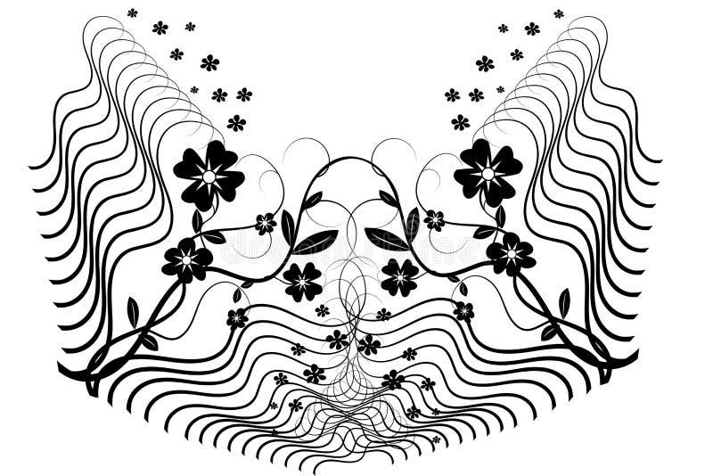 kwiat kwiecisty ilustracji