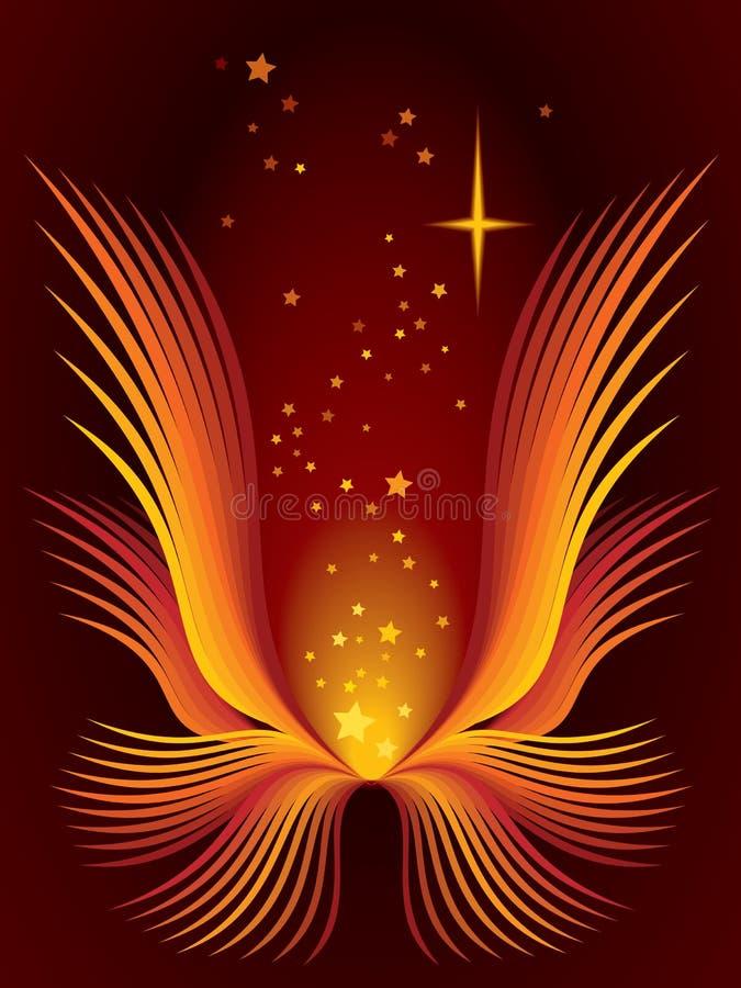 kwiat magii royalty ilustracja