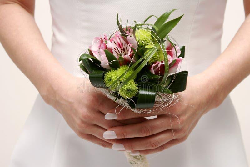 kwiat na ślub fotografia stock