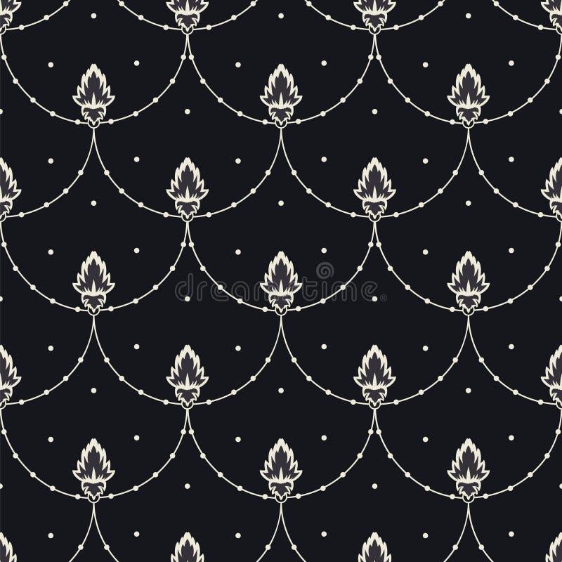 Download Kwiat Na Arkanie Z Kropka Bezszwowym Wzorem Ilustracja Wektor - Ilustracja złożonej z wzór, arkana: 106911434