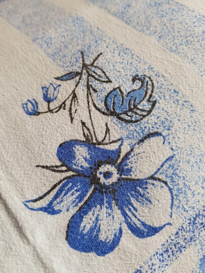 Kwiat na duvet zdjęcie stock