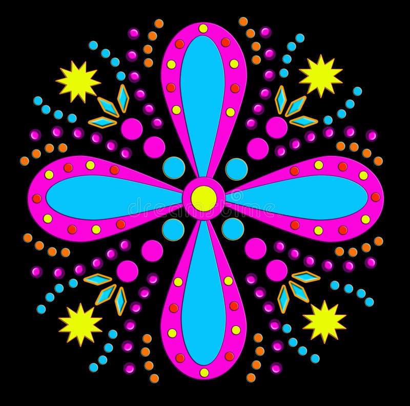kwiat ostry ilustracja wektor