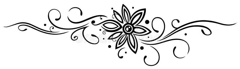 Kwiat, Plemienny ilustracji