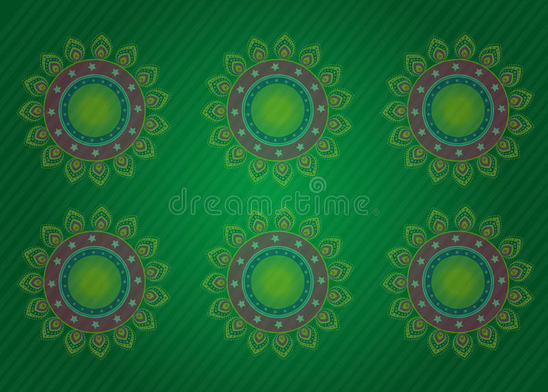 kwiat projektu światła royalty ilustracja