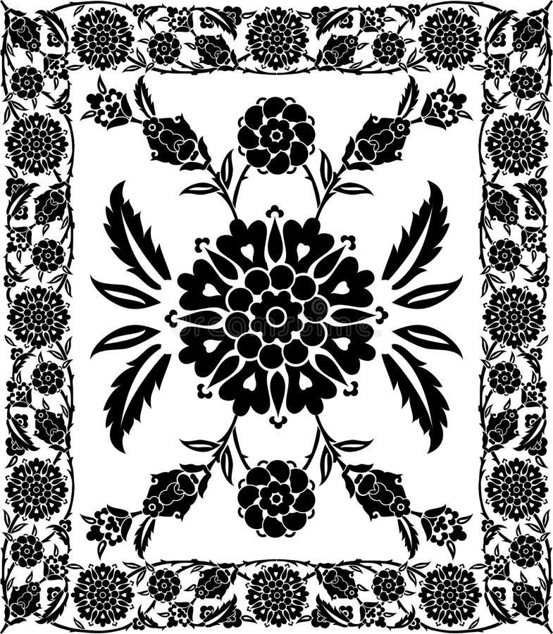 kwiat ramowy wektora ilustracji